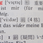 『ドイツ語重要単語4000』で使う単語だけを片っ端から覚える